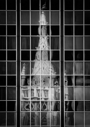 St. John's Cathedral reflected in East Ohio Gas building