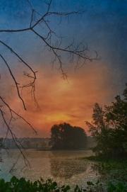 Sunrise at Corning Lake