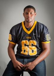Kyle, high school football star